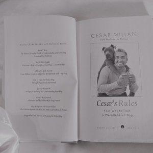 Cesar Mallan Dog Book - Hard Cover